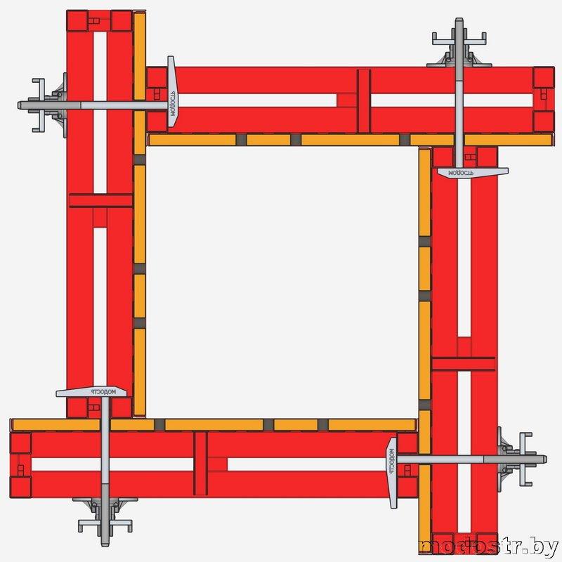 Схема соединения щитов