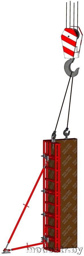 Схема строповки Г-образных